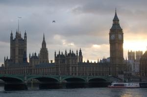 Big Ben au crépuscule