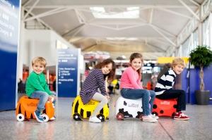 Quelle joie que de voyager avec des enfants